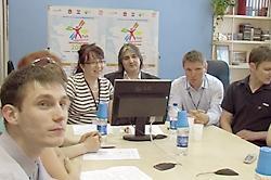 Телемост Пермь-Москва в рамках «Тура творческой молодежи 2008»
