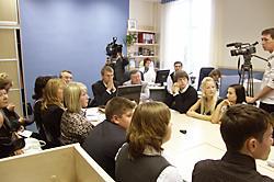Видеоконференция «Парламентский урок-2008»