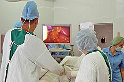 Прямая трансляция операций в рамках краевой конференции «Современные подходы в хирургическом лечении гастроэзофагеальной рефлюксной болезни и ожирения»