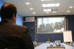 Всероссийская видеоконференция в рамках подготовки «Стратегии партнерства Российской Федерации и Всемирного банка на период с 2012 по 2016 годы»